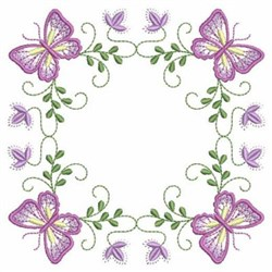 Butterfly Blocks embroidery design