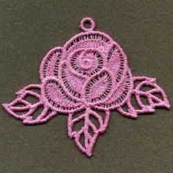 FSL Rose embroidery design