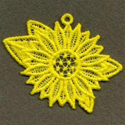 FSL Sunflower embroidery design