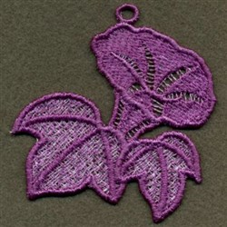 FSL Morning Glory embroidery design