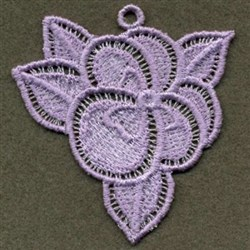 FSL Pansy embroidery design