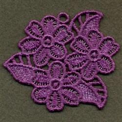 FSL Violets embroidery design