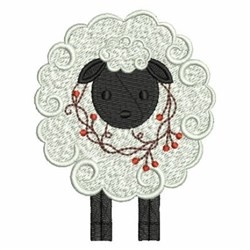 Country Sheep embroidery design