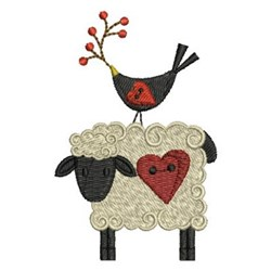 Country Animals embroidery design