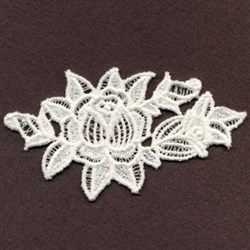 FSL Floral embroidery design