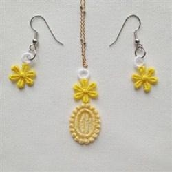 FSL Flower Jewelry embroidery design