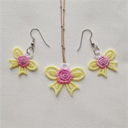 FSL Bow Jewelry embroidery design