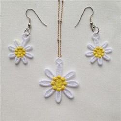 FSL Daisy Jewelry embroidery design