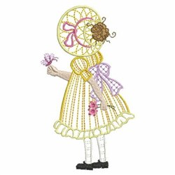 Little Sunbonnet Girl embroidery design