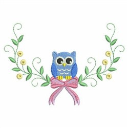 Baby Owl  embroidery design