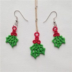 FSL Christmas Jewelry embroidery design