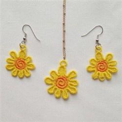 FSL Sunflower Jewelry embroidery design