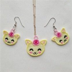 FSL Kitten Jewelry embroidery design