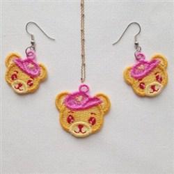FSL Teddy Bear Jewelry embroidery design