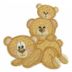 Teddy Bears embroidery design