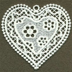 FSL Heart embroidery design