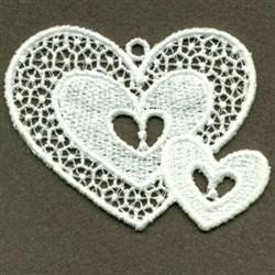 FSL Hearts embroidery design