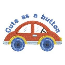 Child's Car embroidery design