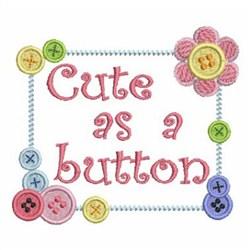 Button Border embroidery design