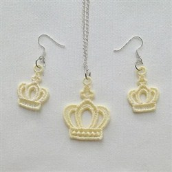 FSL Crown Jewelry embroidery design