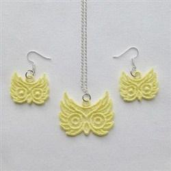 FSL Owl Jewelry embroidery design