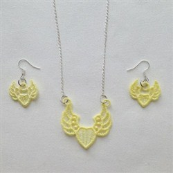 FSL Heart Jewelry embroidery design