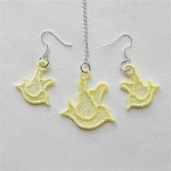 FSL Dove Jewelry embroidery design