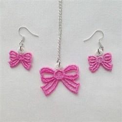 FSL Pretty Bow Jewelry embroidery design