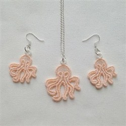 FSL Octopus Jewelry embroidery design