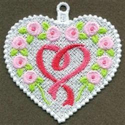 FSL Pink Ribbon embroidery design