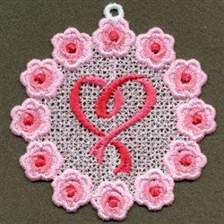 FSL Pink Ribbon embroidery design