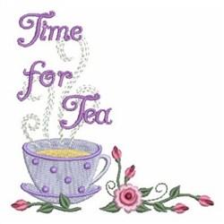 Tea Cup Corner embroidery design