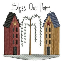 Country Home embroidery design