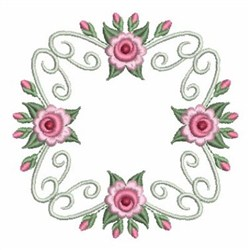 Roses Fancy Blocks embroidery design