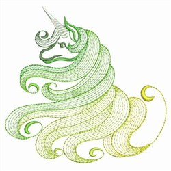 Magical Unicorn 2 embroidery design