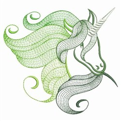 Magical Unicorn 2 embroidery design