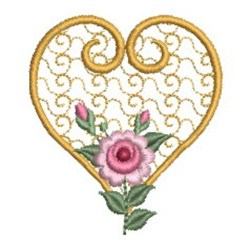 Pearl Roses 2 embroidery design