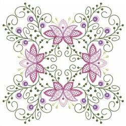 Vintage Jacobean Quilt 5 embroidery design