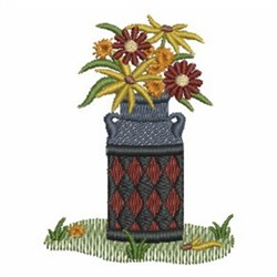 Country Garden embroidery design