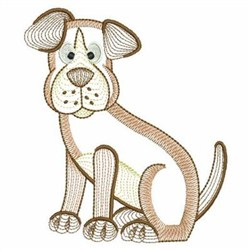 Rippled Farm Animals embroidery design
