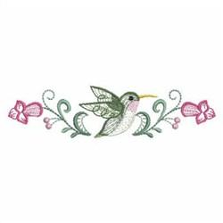 Rippled Hummingbirds 3 embroidery design