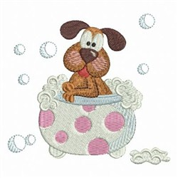 Cute Puppy 2 embroidery design