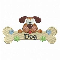 Cute Puppy 2 embroidery design
