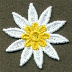3D FSL Flowers 3 embroidery design