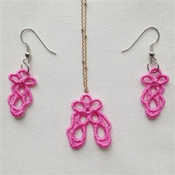 FSL Earrings And Pendant 5 embroidery design