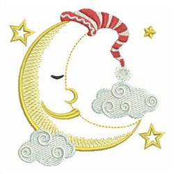 Good Night embroidery design