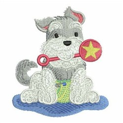 Animals In Pajamas 2 embroidery design