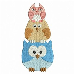 Stacked Animals 2 embroidery design