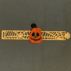 FSL Halloween Napkin Rings embroidery design