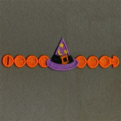 FSL Halloween Napkin Rings embroidery design